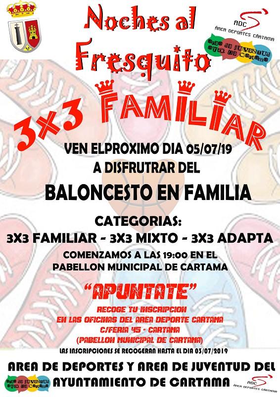 Jornada Baloncesto 3x3 Cártama 2019