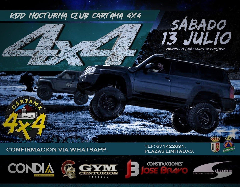 Ruta Nocturna 4x4 Nocturna Cártama