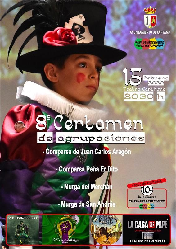 8 Certamen Agrupaciones Carnaval 2020