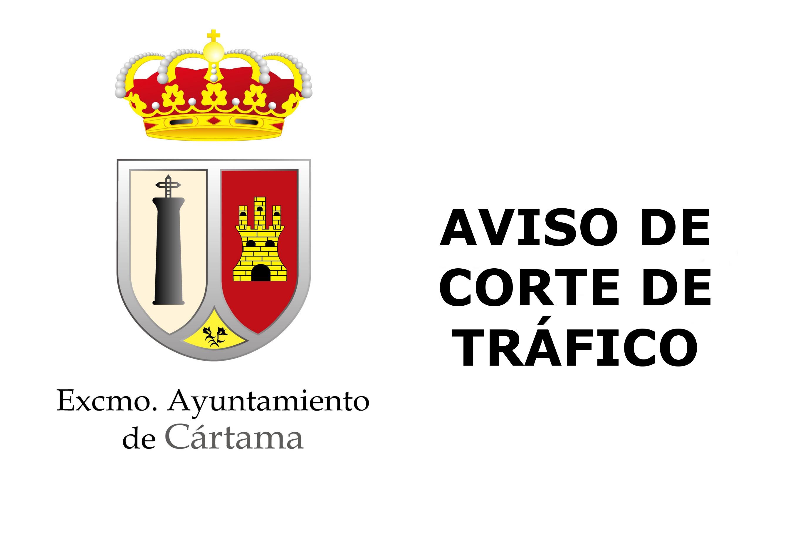 Aviso corte tráfico Cártama