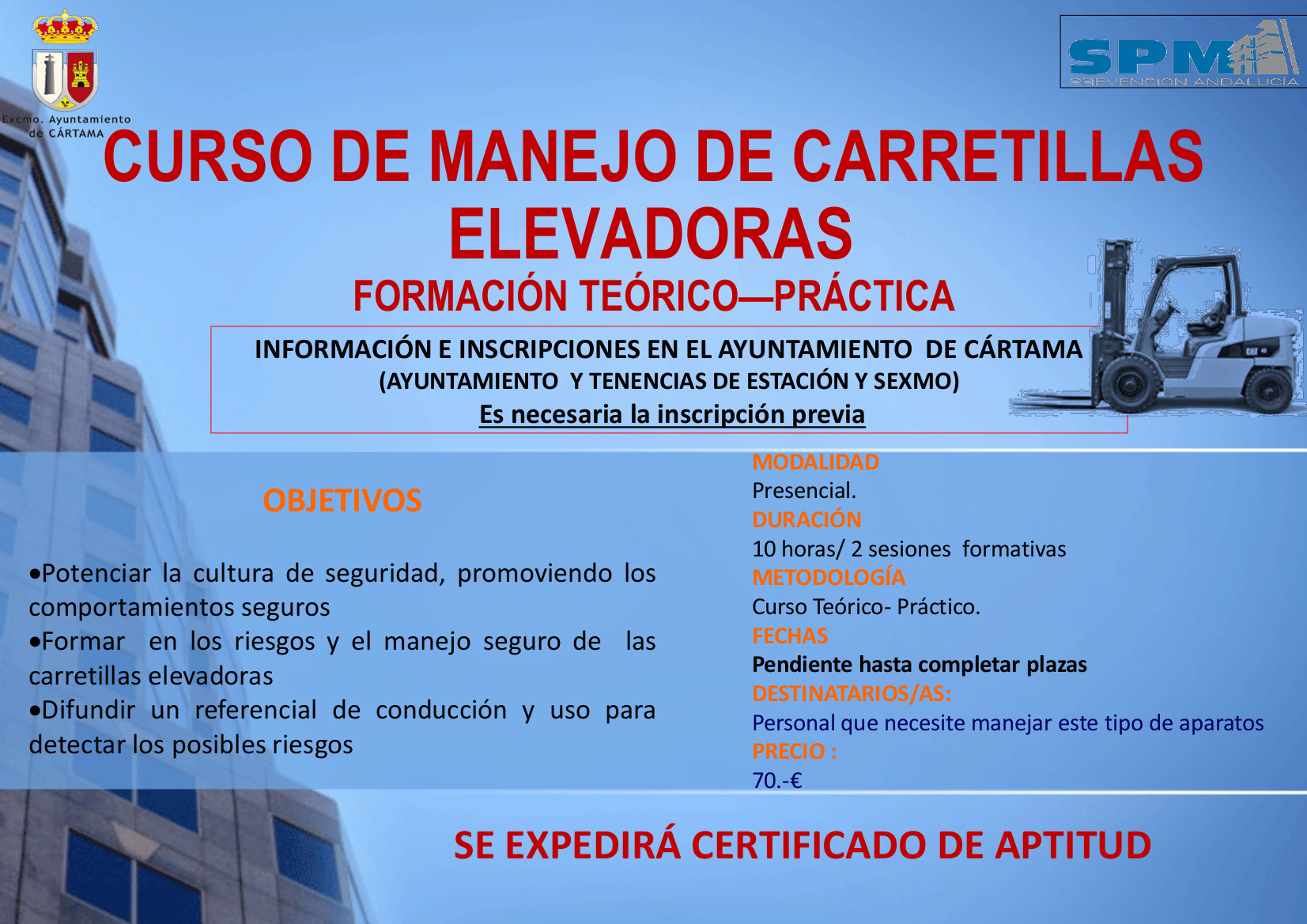 cartel-curso-de-manejo-de-carretillas-elevadoras-cartama-feb-2019