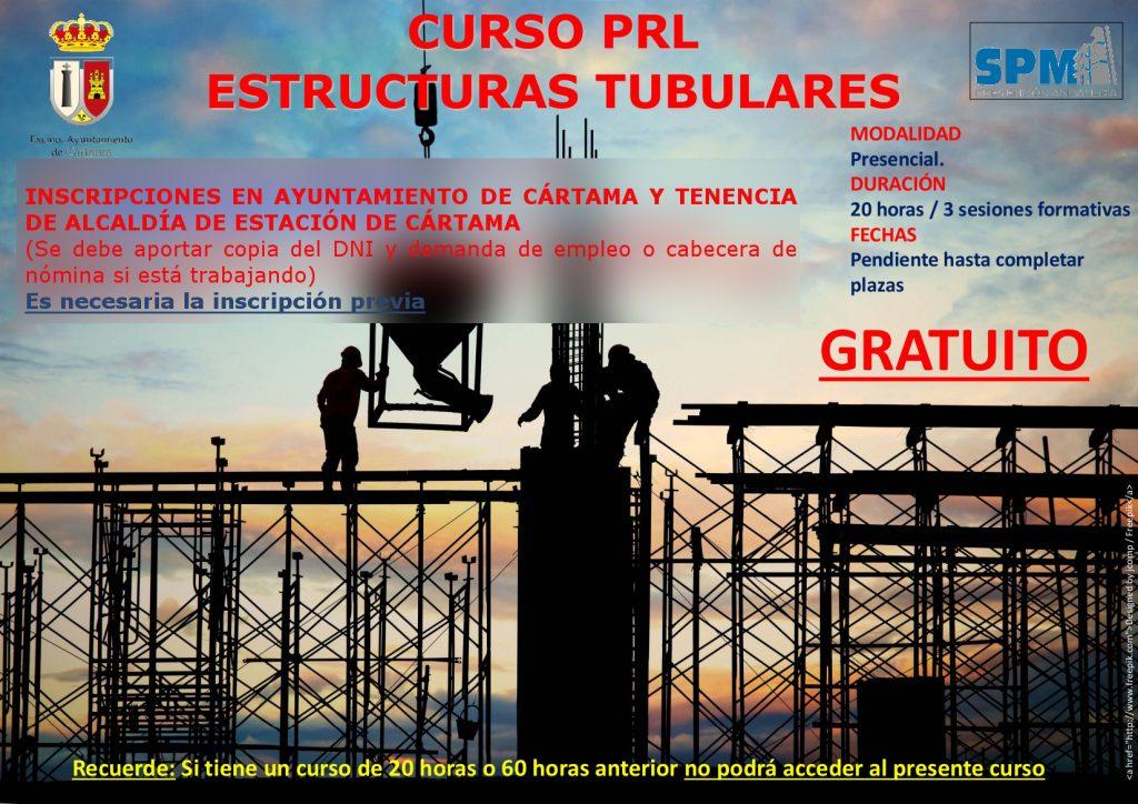 cartel-curso-prl-20-h-estructuras-tubulares-2021-inscripciones