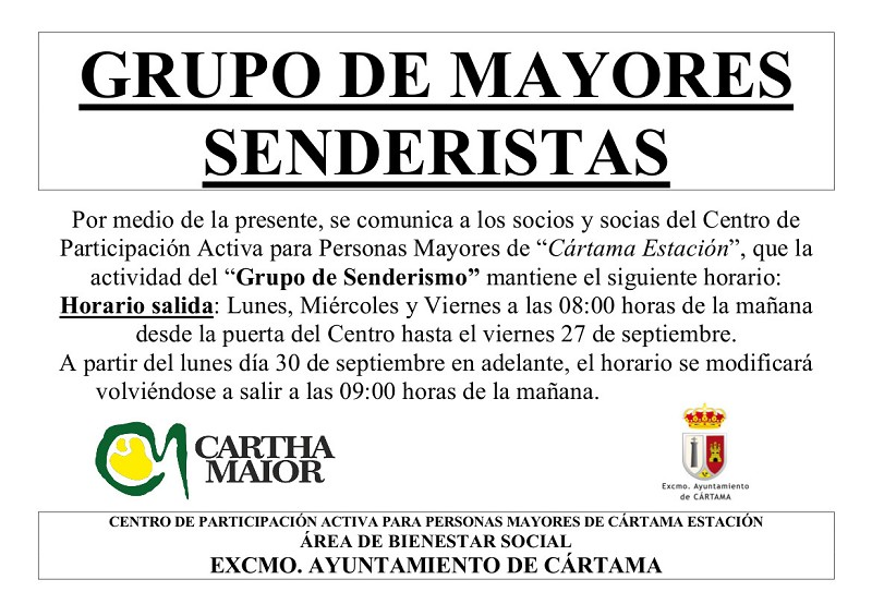 Actividades CPA El Sexmo 2019