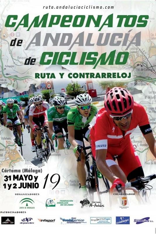 Campeonatos de Andalucía de Ciclismo en Ruta y CRI 2019