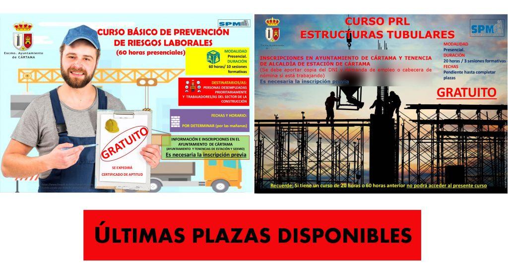 cartel-ultimas-plazas-cursos-prl