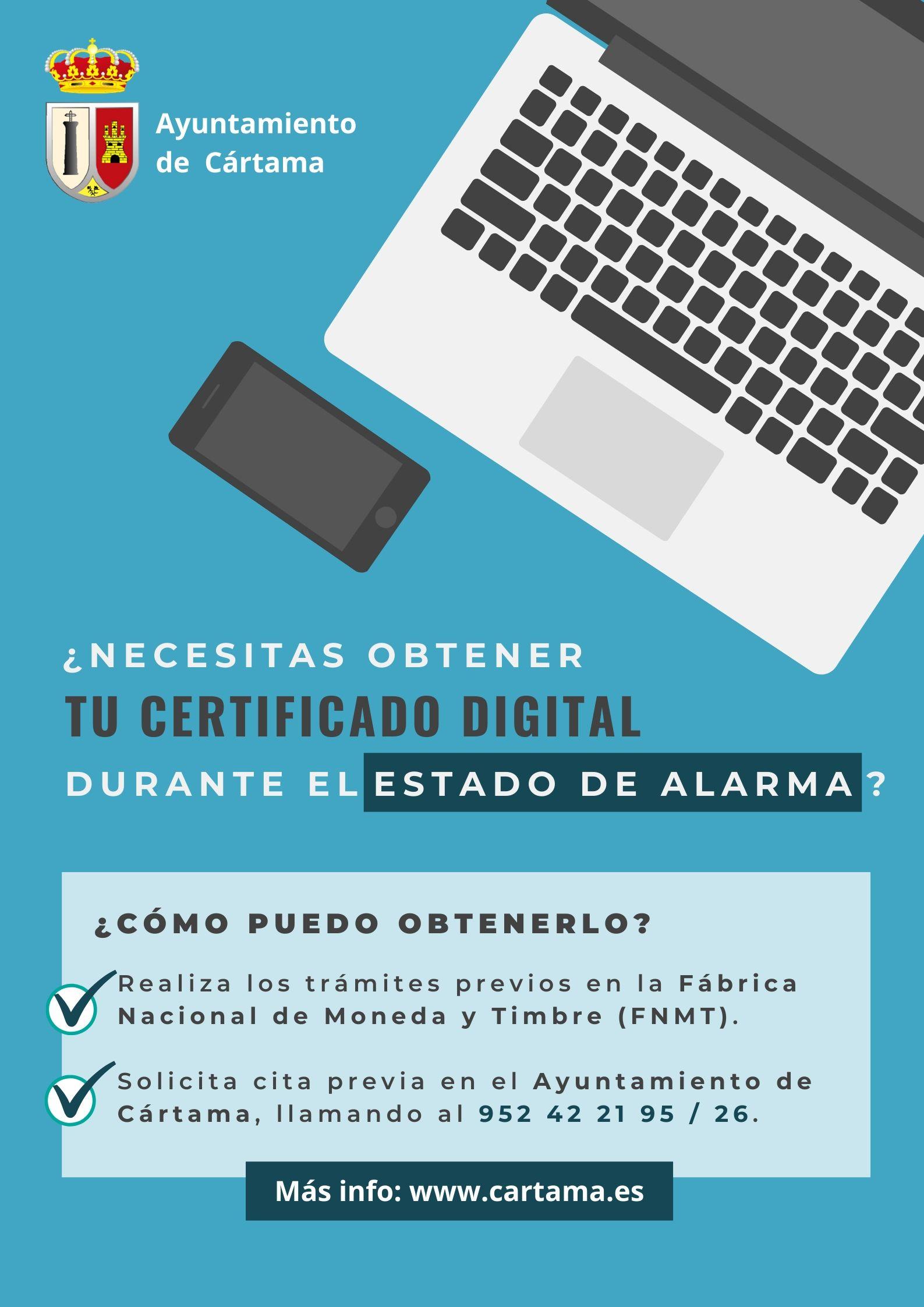 Certificado Digital Estado de Alarma