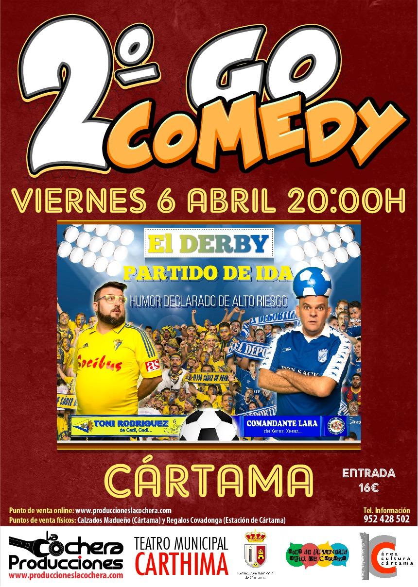 Cartel II Go Comedy 060418