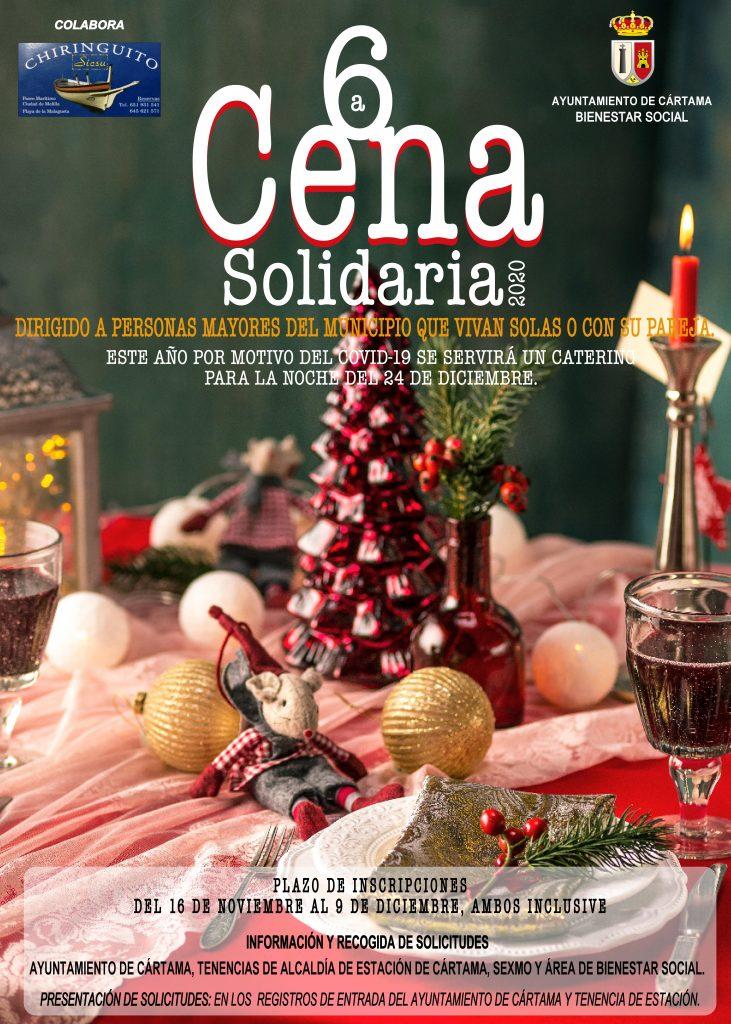 cartel-vi-cena-solidaria-de-navidad-bienestar-social-2020