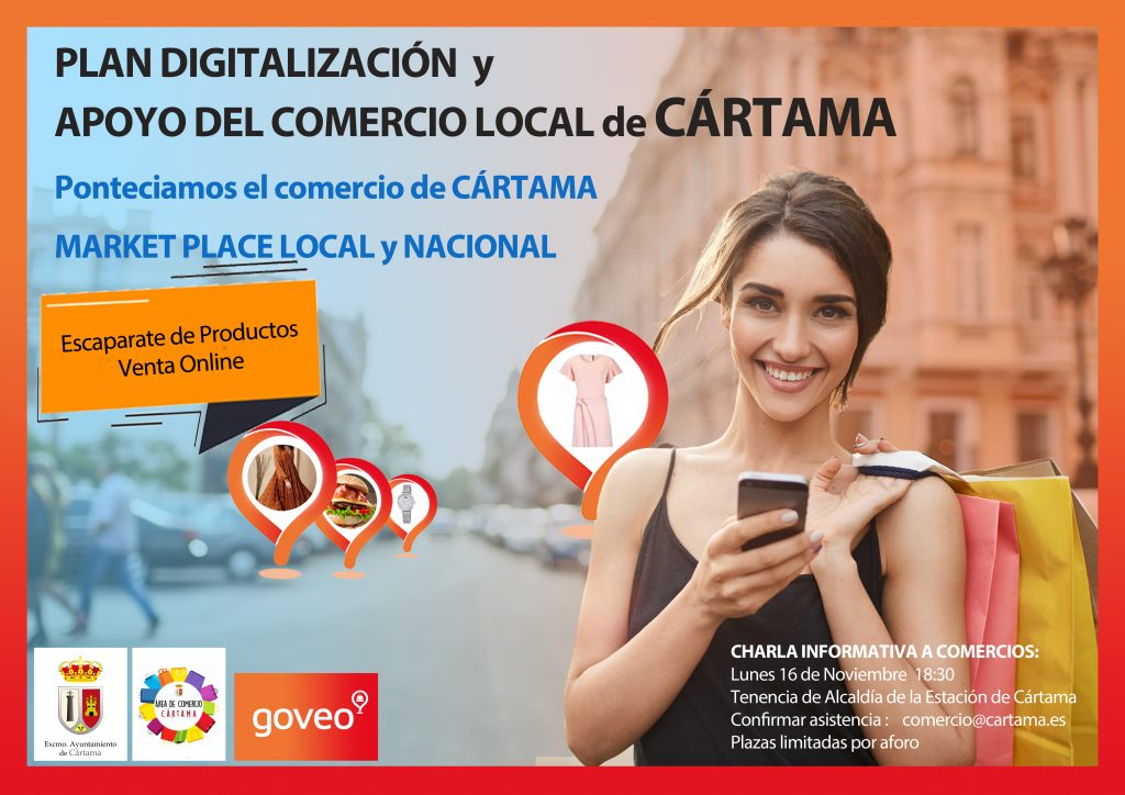cartel-charla-informativa-proyecto-digitalizacion-comercios-app-goveo-161120