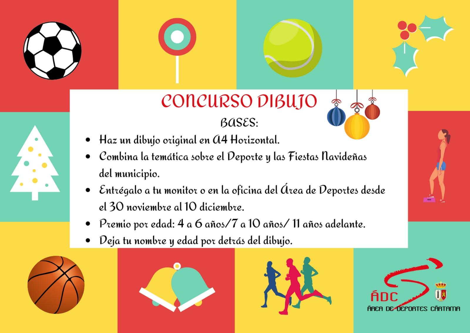 cartel-concurso-dibujo-area-de-deportes-navidad-2020