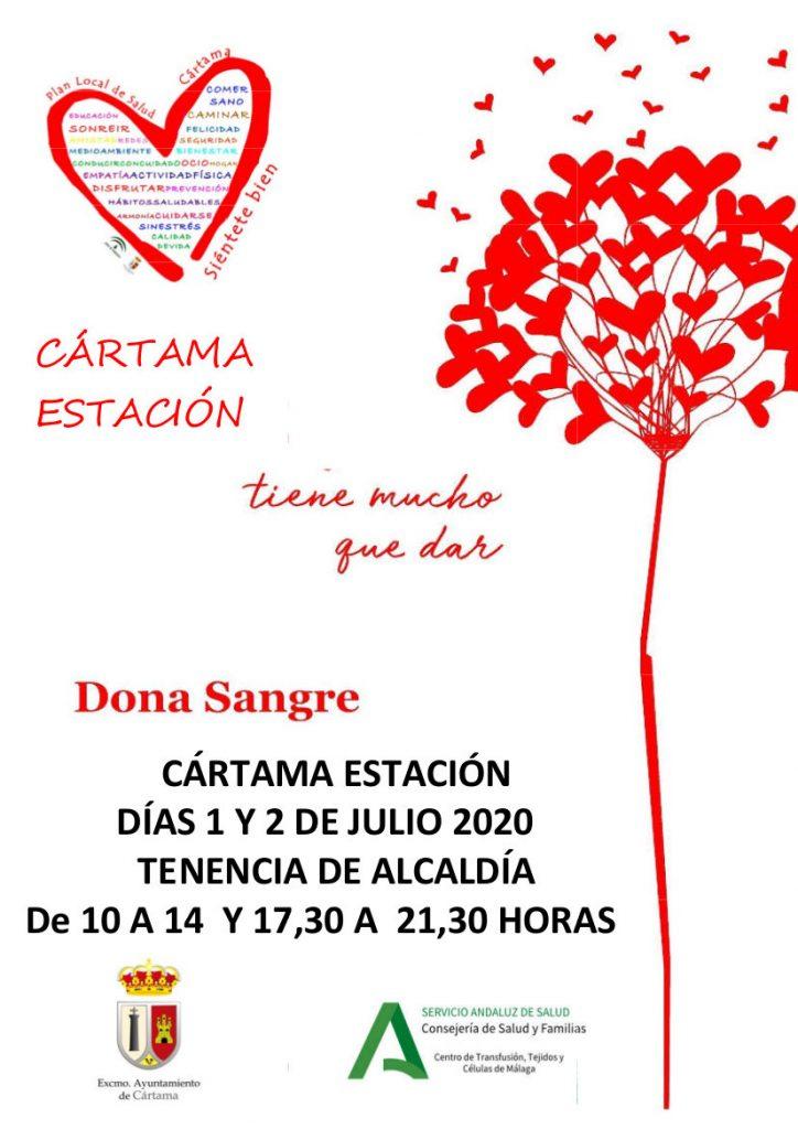 cartel-donacion-de-sangre-estacion-de-cartama-1-y-2-julio-con-logos