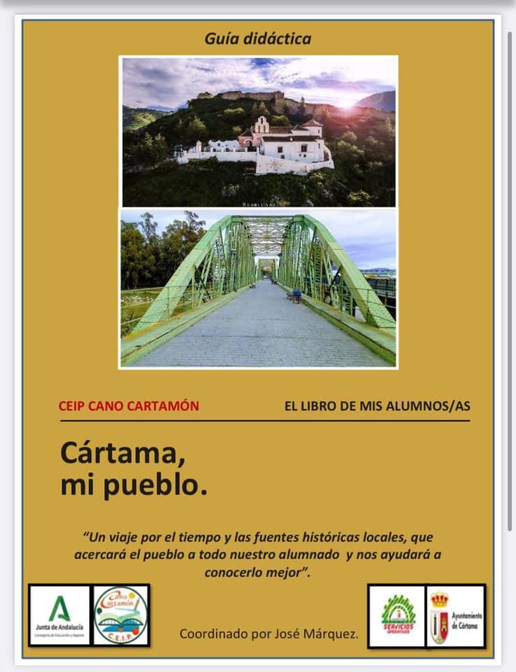 cartel-exposicion-cartama-mi-pueblo-ceip-cano-cartamon