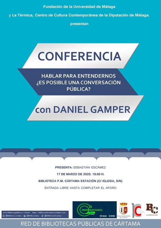 Conferencia Daniel Gamper