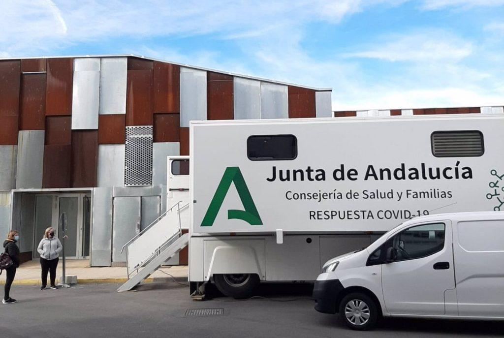 26/01/2021 Cribado en Vélez-Rubio (Almería) SALUD ANDALUCÍA ESPAÑA EUROPA ESPAÑA EUROPA ALMERÍA ANDALUCÍA AUTONOMÍAS AYUNTAMIENTO DE VÉLEZ-RUBIO