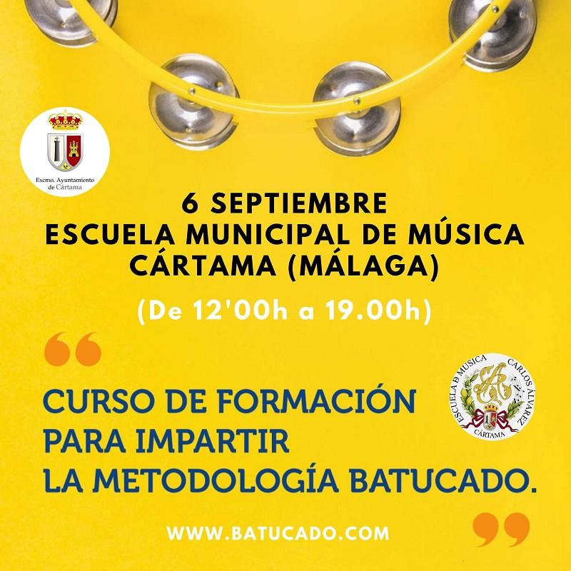 Curso Batucado Escuela Música Cártama