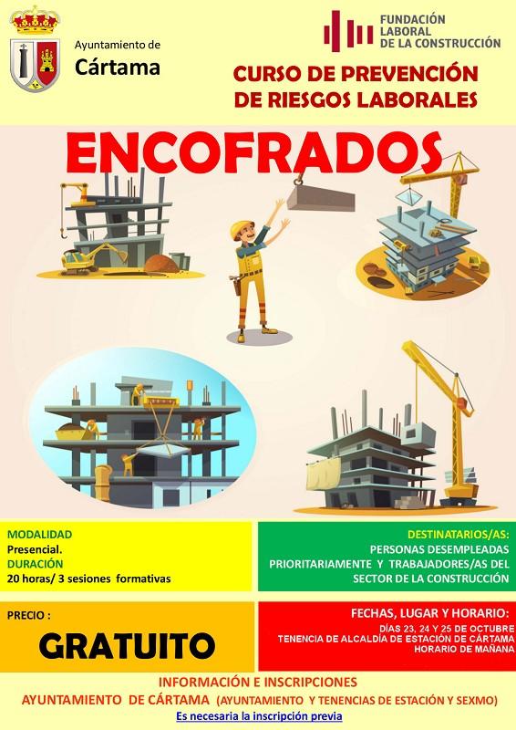 Curso Encofrados Cártama 2019