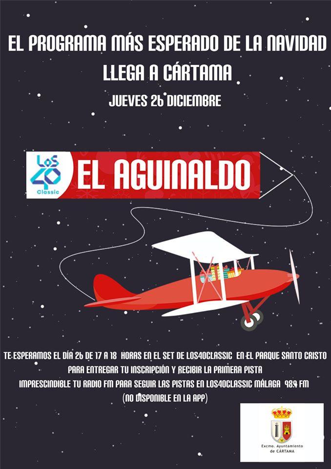 El Aguinaldo Los40 Cártama 2019
