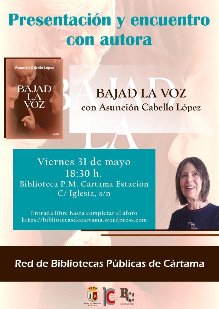 Encuentro autora Asunción Cabello Cártama