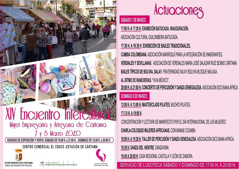 Encuentro Intercultural Mujer Empresaria y Artesana Cártama