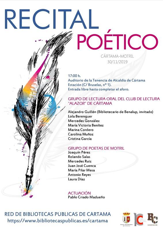 Encuentro Poético Cártama 2019