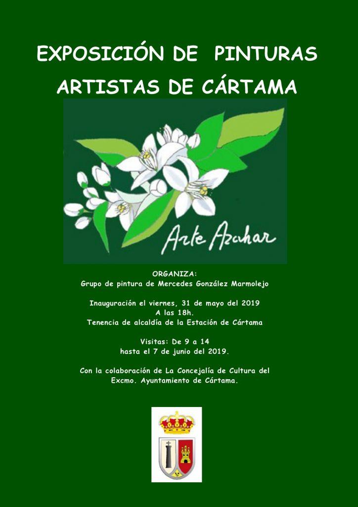 Exposición pintura Arte Azahar Cártama