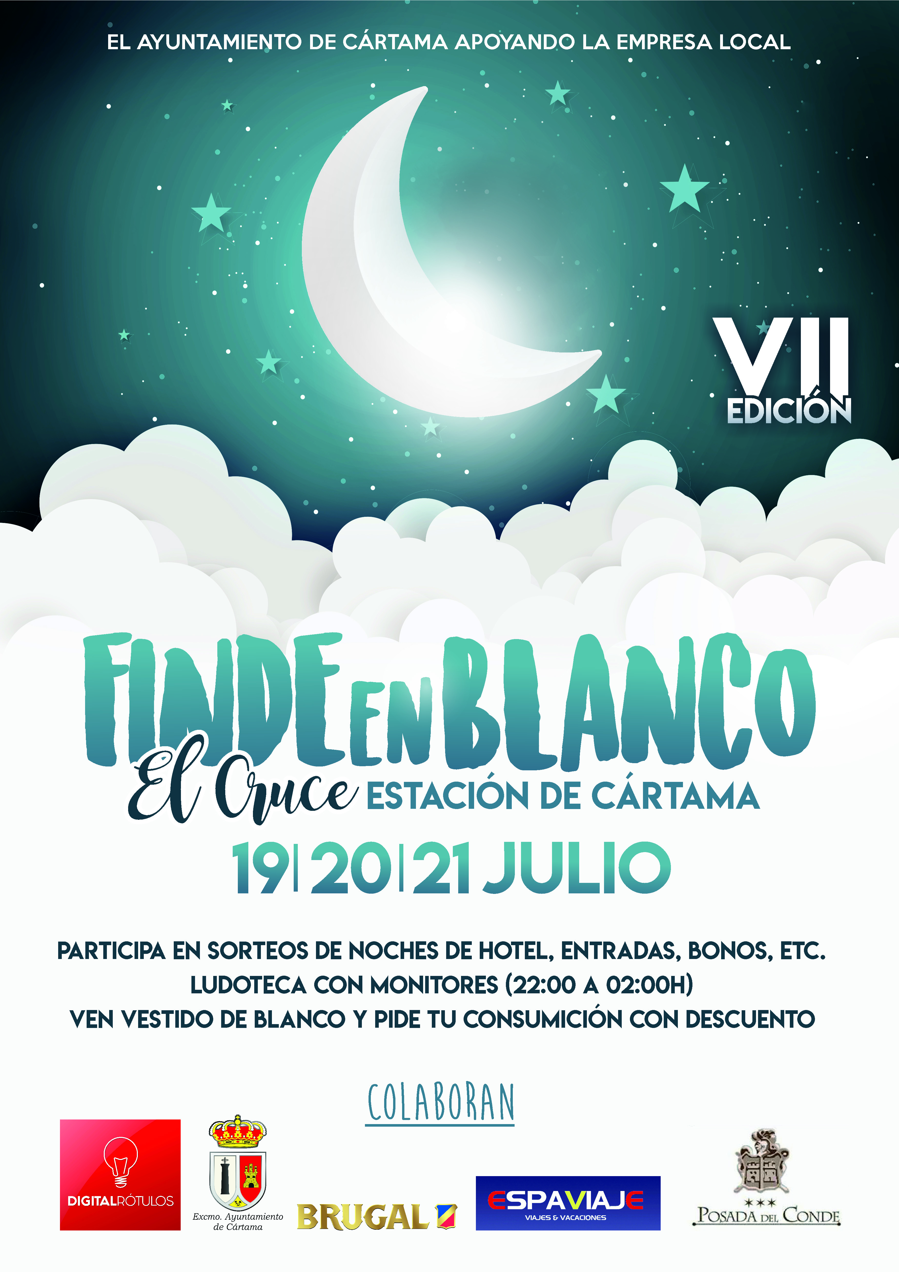 Finde en Blanco Cártama 2019
