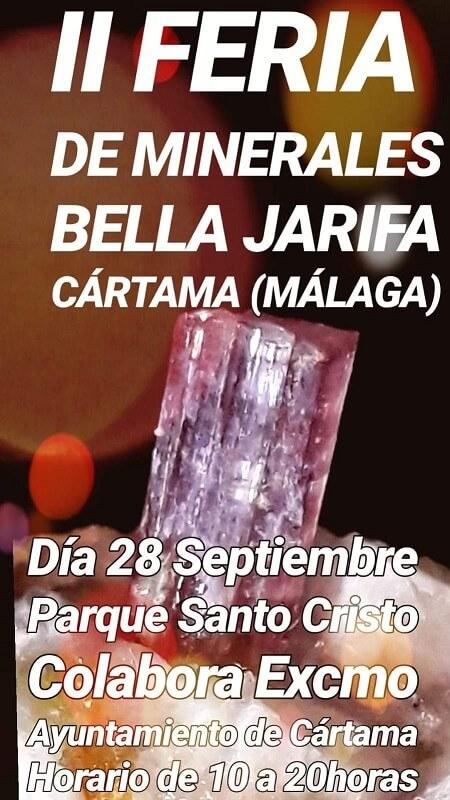 II Feria de Minerales Bella Jarifa