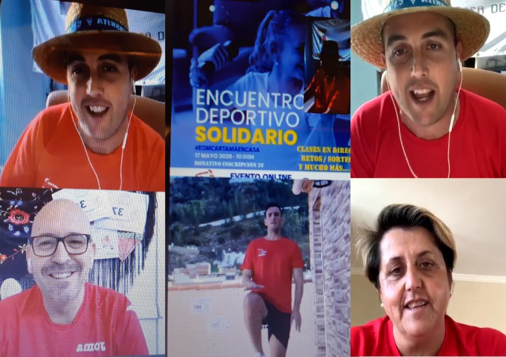 imagen-momentos-encuentro-deportivo-solidario-online-edmcartamaencasa