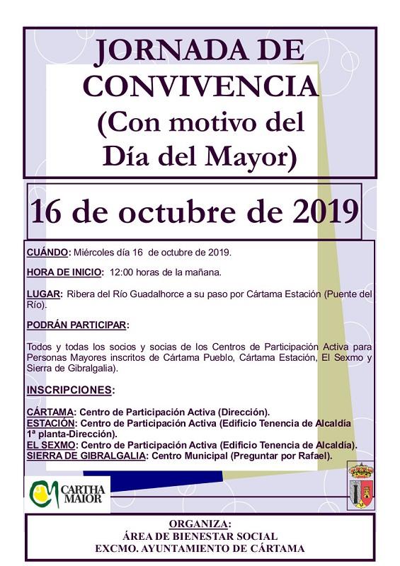 Jornada de Convivencia Día del Mayor 2019