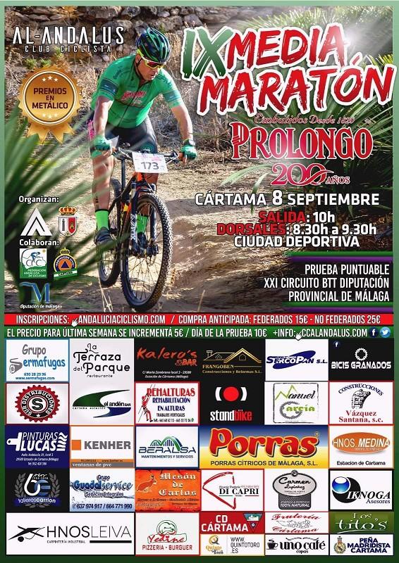 IX edición de la Media Maratón Ciclista Cártama