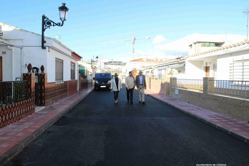 Obras Calle Francisco Quevedo Cártama 2019