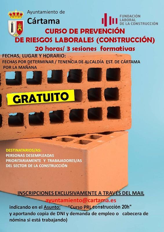 Curso PRL Construcción Cártama 2020