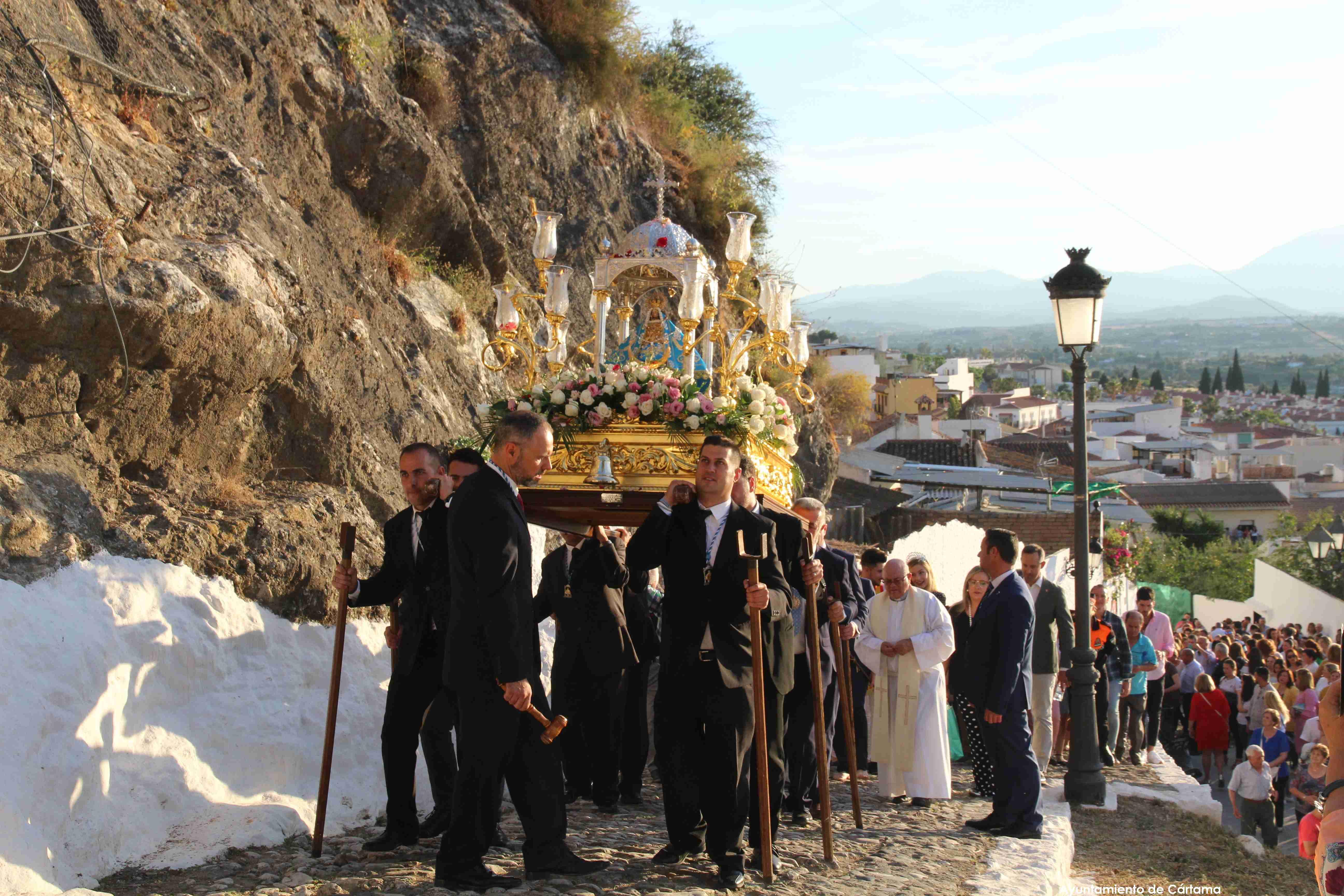 Procesión Virgen de los Remedios Cártama