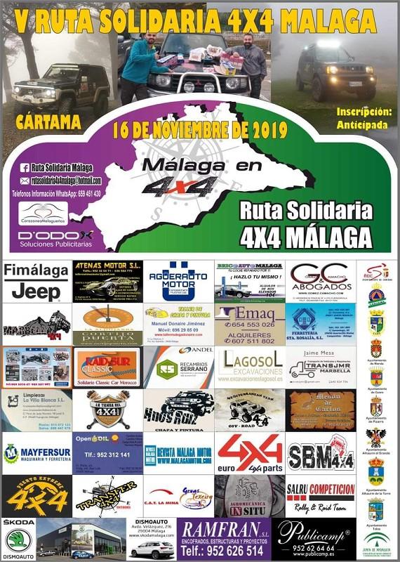 Ruta Solidaria 4x4 Cártama