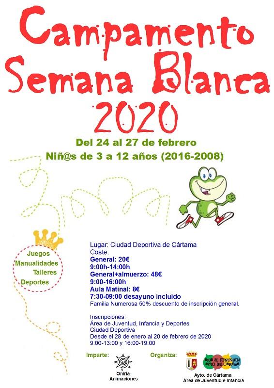 Campamento Semana Blanca 2020