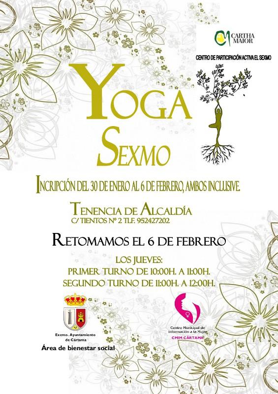 Taller Yoga CPA Sexmo