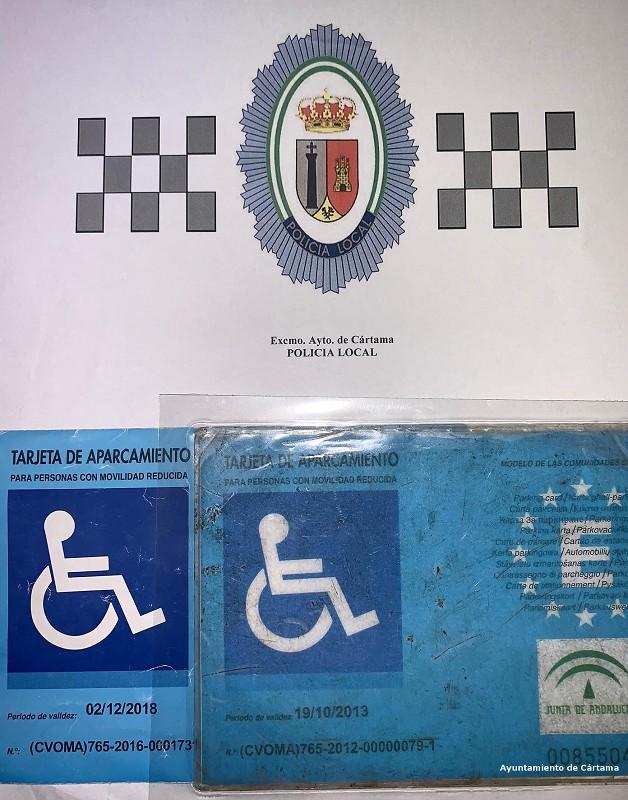Fraude tarjetas discapacidad Cártama