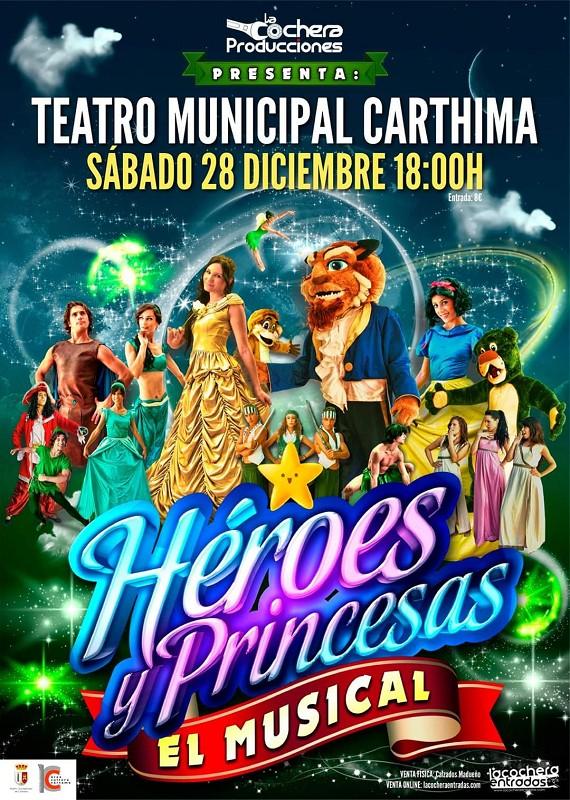 Teatro Heróes y Princesas