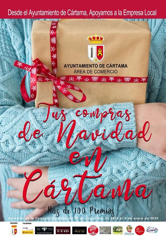 Campaña Compras Navidad Cártama 2019