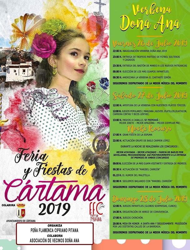 Verbena Doña Ana Cártama 2019