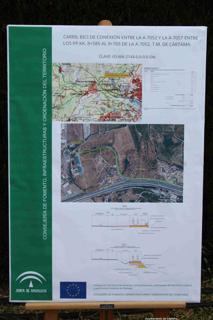 visitas-delegada-gobierno-y-fomento-zona-via-ciclo-peatonal-dona-ana-rotonda-carretera-a7057-160620-2